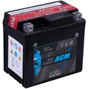 Intact Bike-Power AGM YTX5L-BS 4Ah Motorradbatterie 12V...