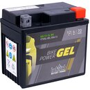 Intact Bike-Power GEL YTX5L-BS Motorradbatterie 4Ah (DIN...