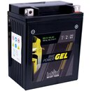 Intact Bike-Power GEL Motorradbatterie GEL12-14L-A2 14Ah (DIN 51411)...