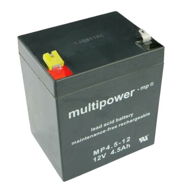 multipower MP4,5-12 12V 4,5Ah Bleiakku