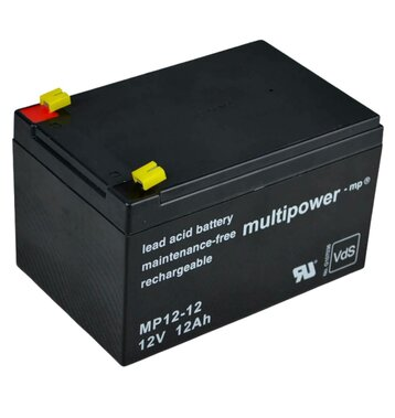 multipower MP12-12 12V 12Ah Bleiakku