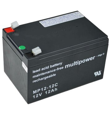multipower MP12-12C 12Ah