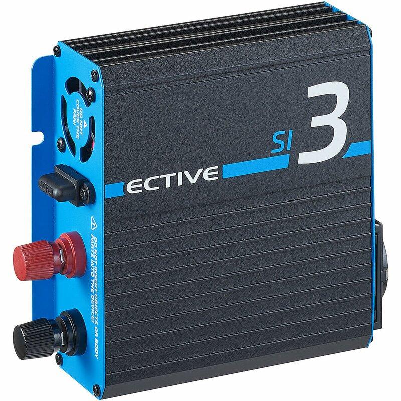 ECTIVE SI 3 300W24V Sinus Wechselrichter mit reiner Sinuswelle