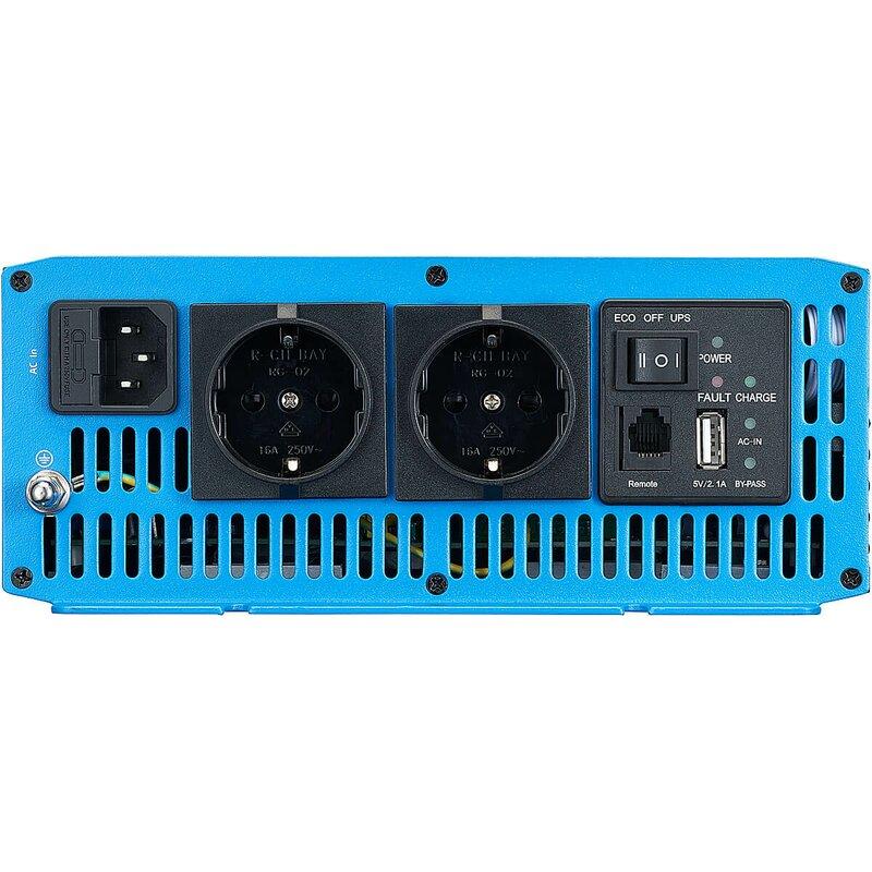 ECTIVE CSI 20 2000W12V Sinus Wechselrichter mit Ladegerät, NVS und UVS Funktion