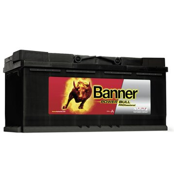 Banner P11040 Power Bull PROfessional 110Ah Autobatterie