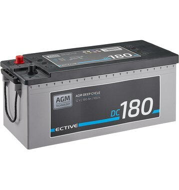 ECTIVE DC 180 AGM Deep Cycle 180Ah Versorgungsbatterie