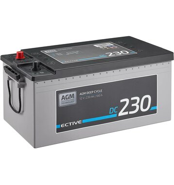 ECTIVE EDC230 Deep Cycle AGM 230Ah