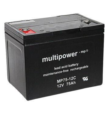 multipower MP75-12C 75Ah