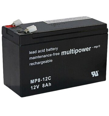 multipower MP8-12C 8Ah