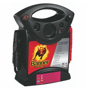 Banner Booster P3-Professional 12V 1600A PKW-Starthilfegerät