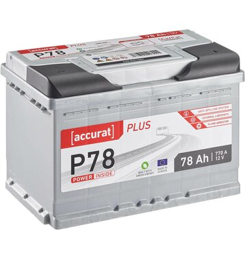 ECTIVE EPC77P PowerCell Plus 77Ah Autobatterie