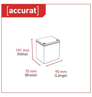 Accurat Supply S4,5 AGM 12V Bleiakku 4,5Ah