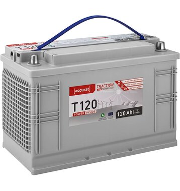 Accurat Traction T120 AGM Versorgungsbatterie 120Ah