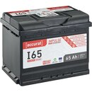 Accurat Impulse I65 Autobatterie 65Ah EFB Start-Stop