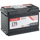Accurat Impulse I75 Autobatterie 75Ah EFB Start-Stop