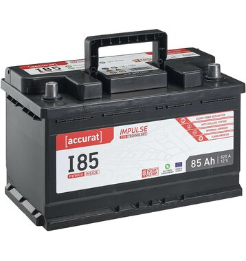 Accurat Impulse I85 Autobatterie 85Ah EFB Start-Stop
