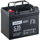 Accurat Supply S35 AGM Bleiakku 35 Ah