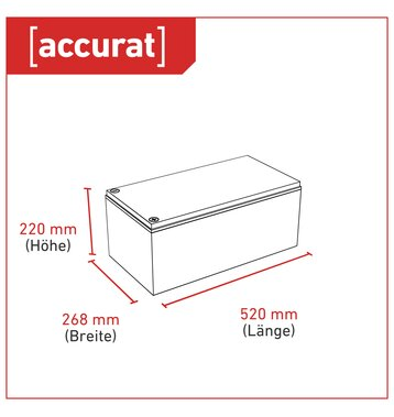 Accurat Supply S280 AGM Bleiakku 280 Ah