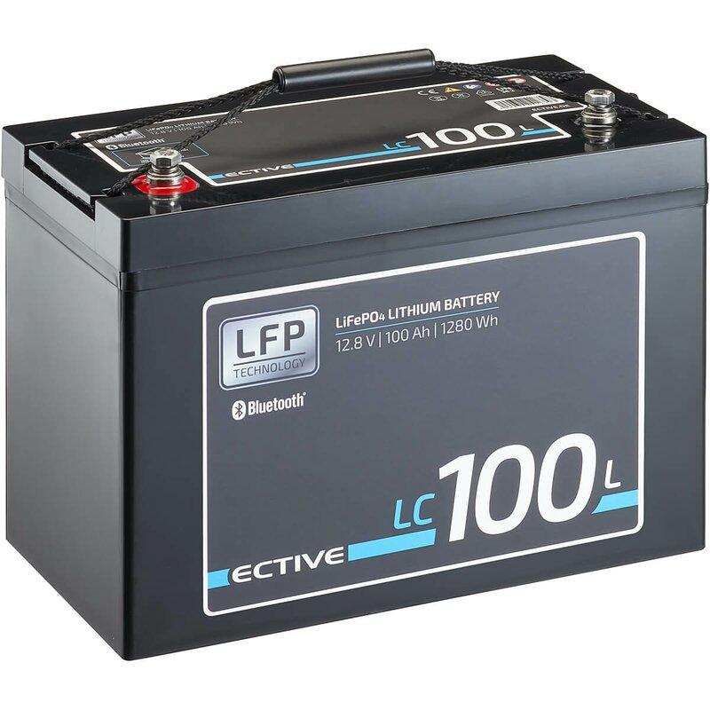 ECTIVE LC 100L BT 12V LiFePO4 Lithium Versorgungsbatterie 100 Ah