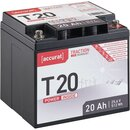 Accurat Traction T20 LFP 24V LiFePO4 Lithium...