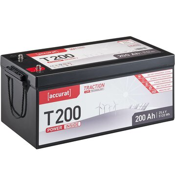 Accurat Traction T200 LFP 24V LiFePO4 Lithium...