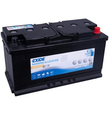 Exide ES900 Equipment Gel (Gel G80) 80Ah